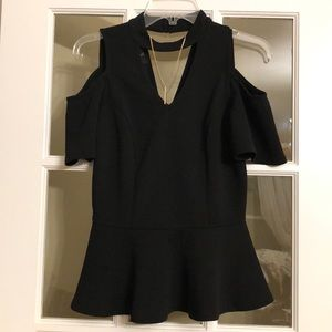 Little black shirt ( comes with necklace)